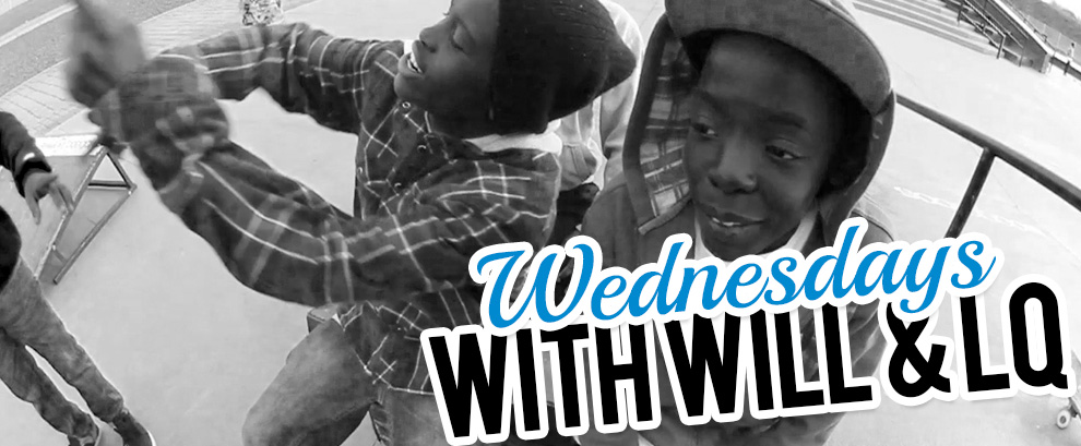 Ollie trick tip from LQ on Wednesdays with Will & LQ