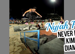 Nyjah Huston at the 2013 Kimberley Diamond Cup Word Skateboarding Championship