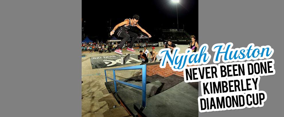 Nyjah Huston at the 2013 Kimberley Diamond Cup Word Skateboarding Championship