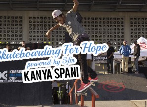 Kanya Spani at Skateboarding for Hope powered by 5fm Soweto