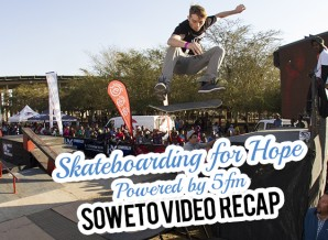 Skateboarding for Hope in Soweto powered by 5fm Video Recap