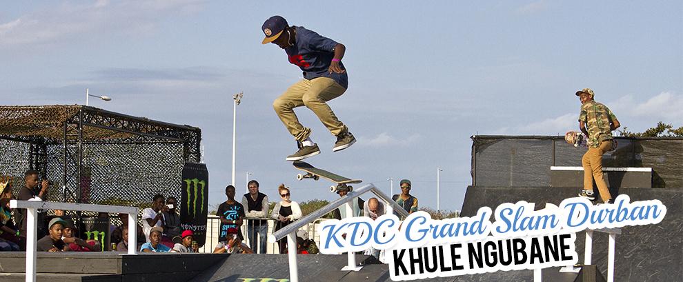 Khule Ngubane at the KDC Grand Slam in Durban
