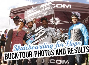 Photos and Results for Skateboarding for Hope by Buck Tour