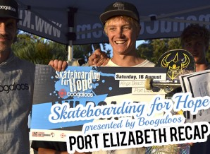Skateboarding for Hope presented by Boogaloos Port Elizabeth Recap