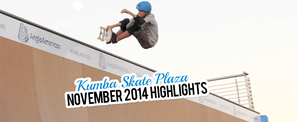Kumba Skate Plaza November 2014 Highlights Video