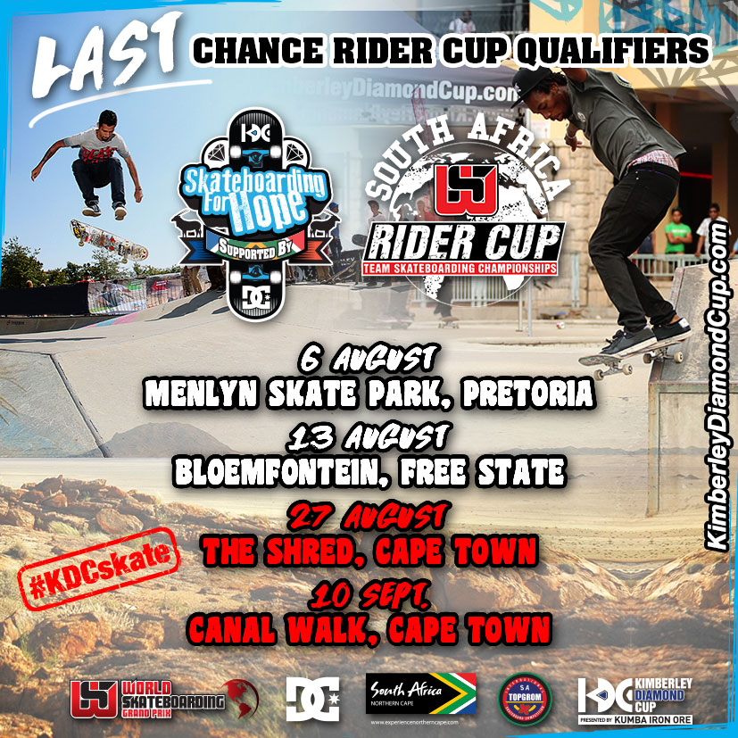 last chance rider cup qualifiers at skateboarding for hope. Black Bedroom Furniture Sets. Home Design Ideas