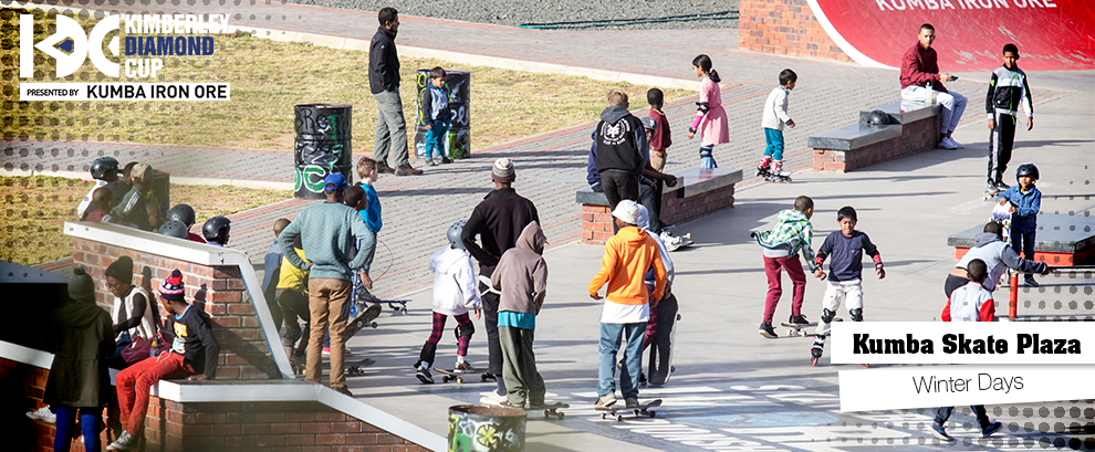 Checking In At The Kumba Skate Plaza: Winter Days